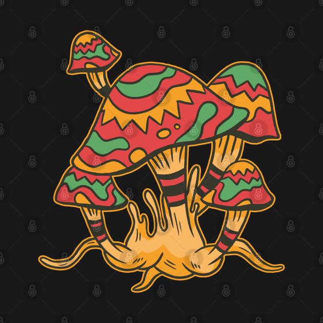 TeePublic: Magic mushroom