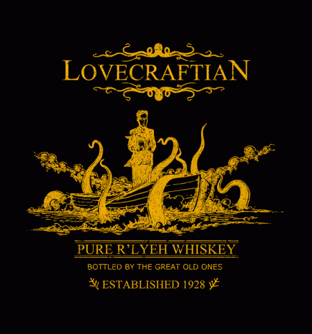 BustedTees: R'lyeh Whiskey