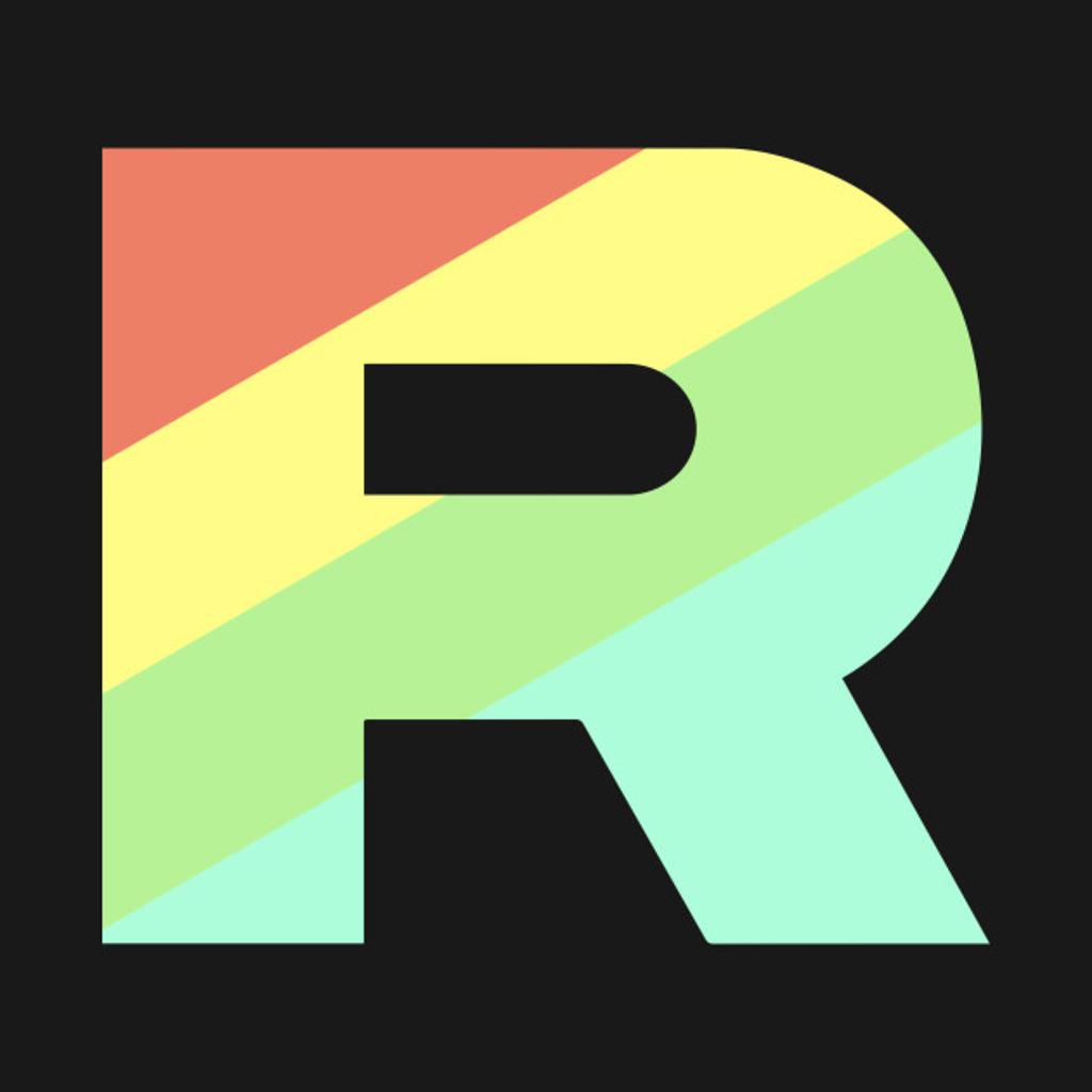 TeePublic: Pokemon GO Team Rocket Rainbow Shirt
