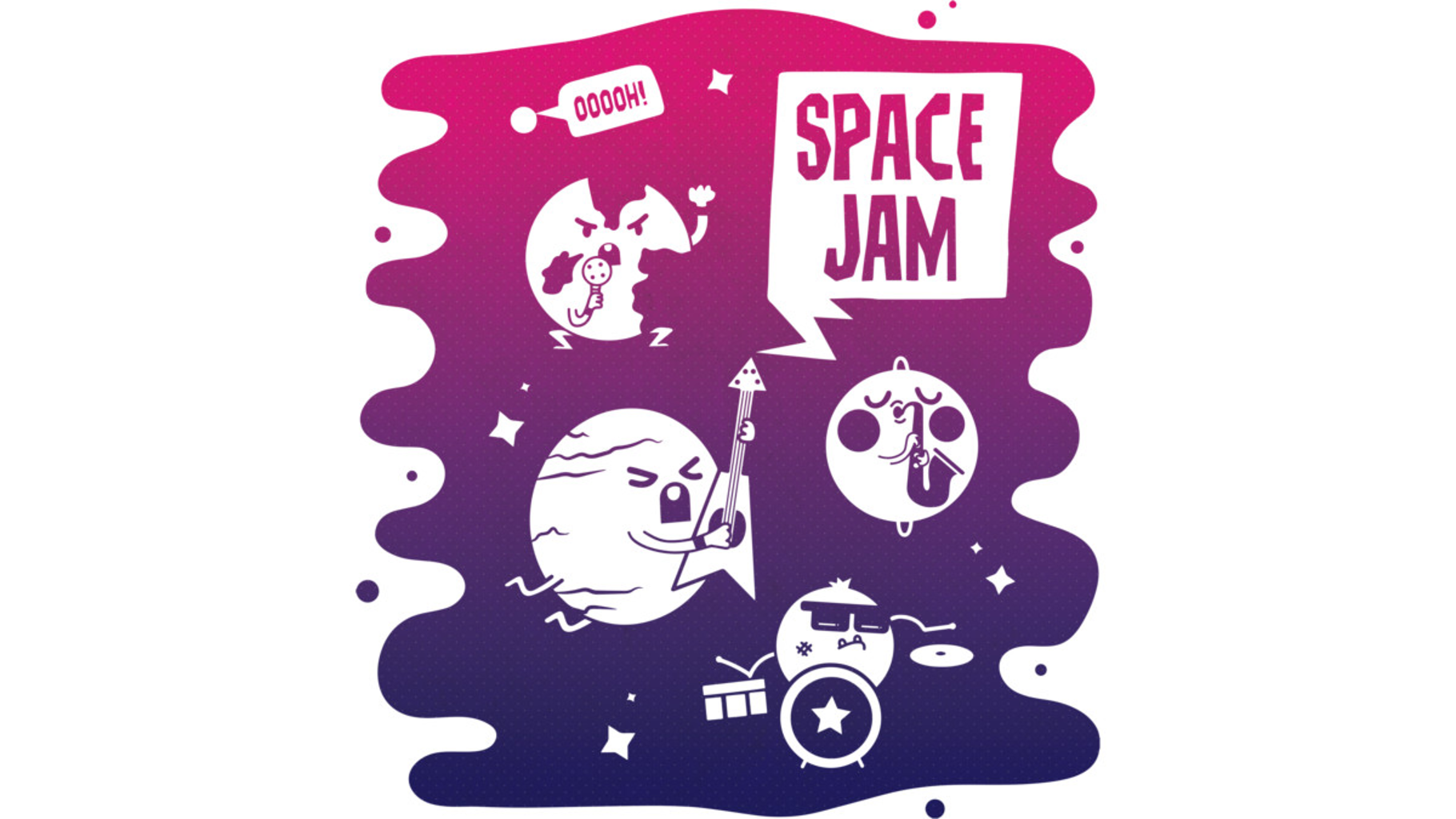 Design by Humans: Space Jam