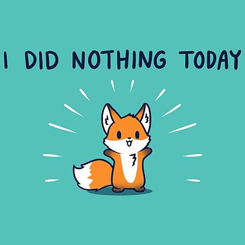 TeeTurtle: I Did Nothing Today