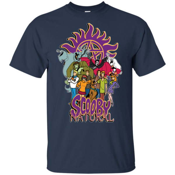 Pop-Up Tee: Scooby Natural