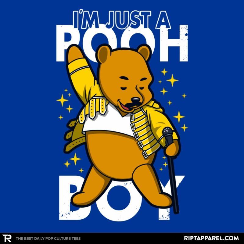 Ript: I'm just a pooh boy