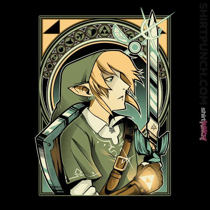 ShirtPunch: Hylian Warrior