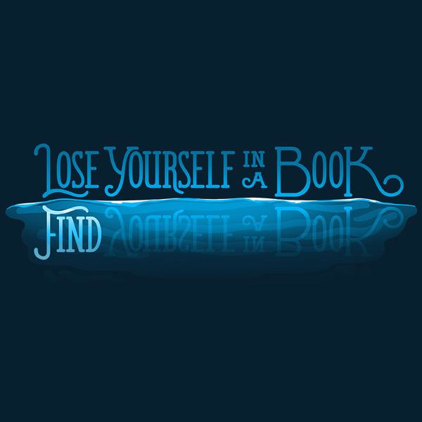 TeeTurtle: Lose Yourself in a Book