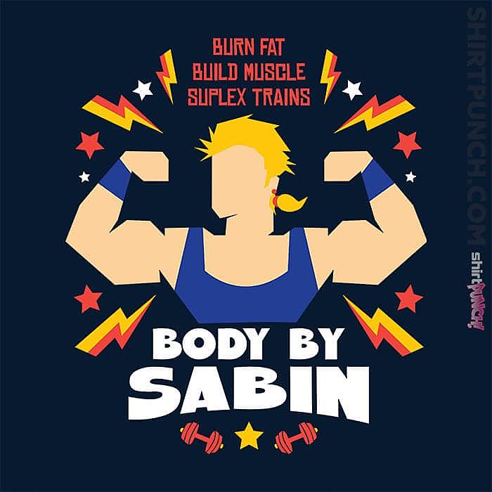 ShirtPunch: Body By Sabin