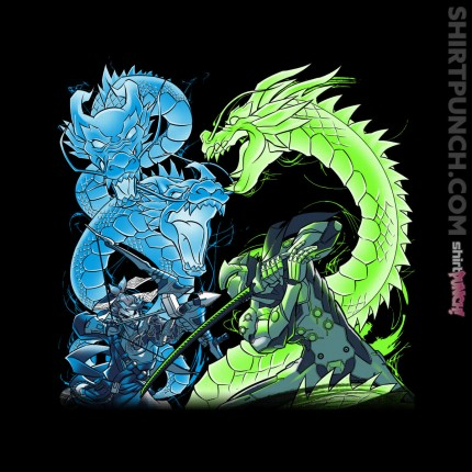 ShirtPunch: Dragon Bros