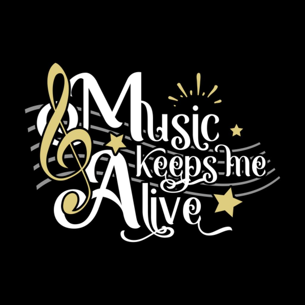 NeatoShop: Music Keeps Me Alive