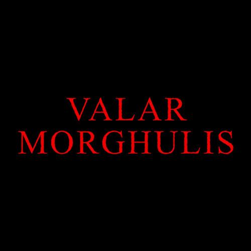 Five Finger Tees: Valar Morghulis T-Shirt