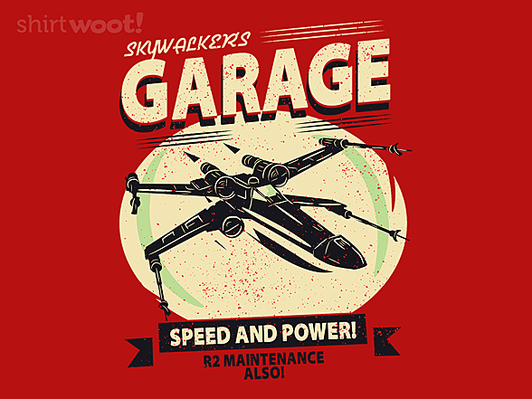 Woot!: Skywalker's Garage