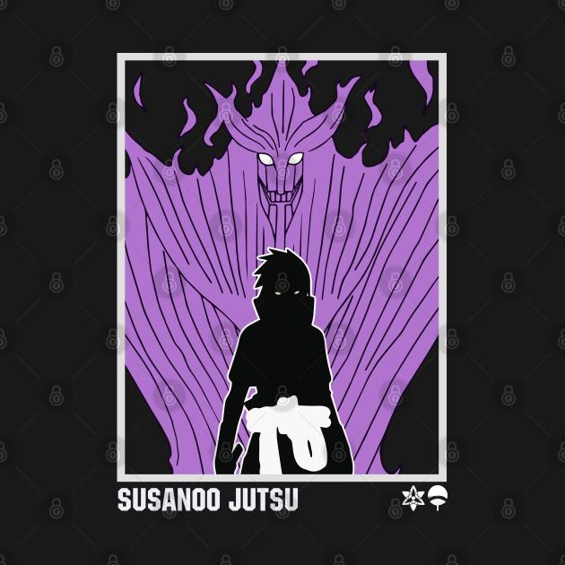 TeePublic: sasuke susanoo
