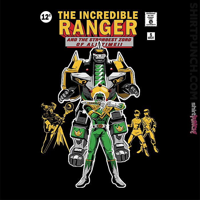 ShirtPunch: The Incredible Ranger