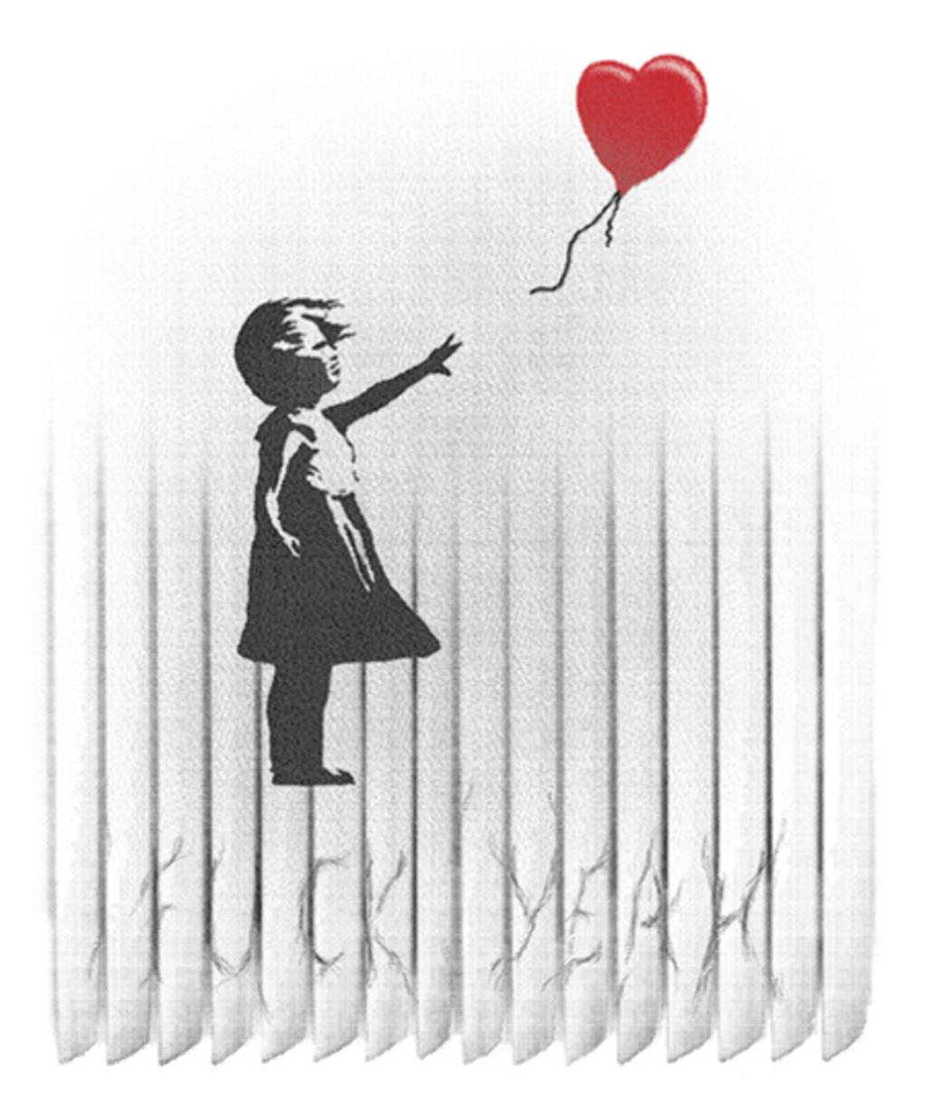 Qwertee: Banksy-ed
