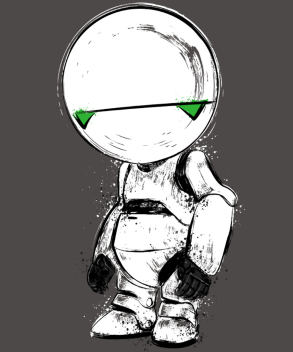 Qwertee: Paranoid Android