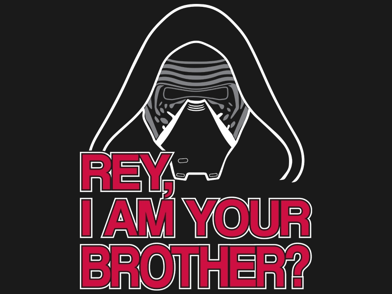 TeeMinus24: Rey, Am I Your Brother?