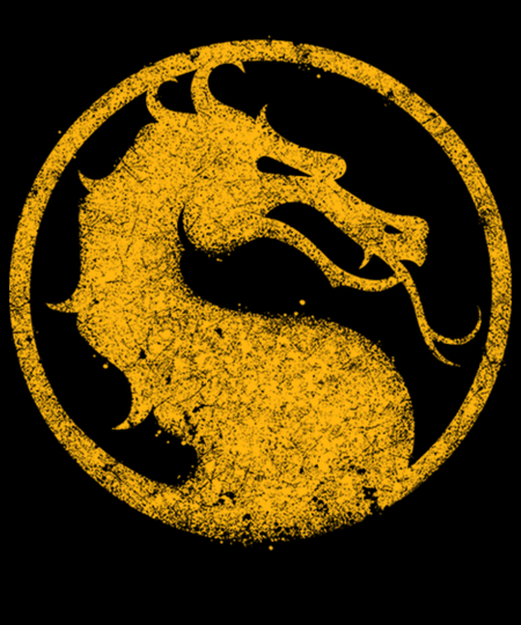Qwertee: Vintage Dragon