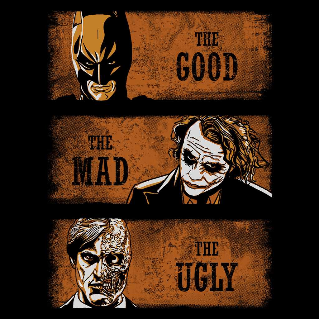 Pop-Up Tee: The Good, The Mad and the Ugly