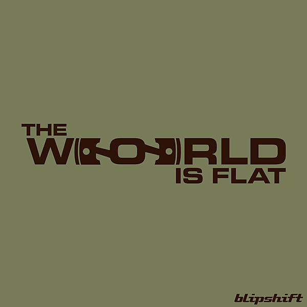 blipshift: The World is Flat