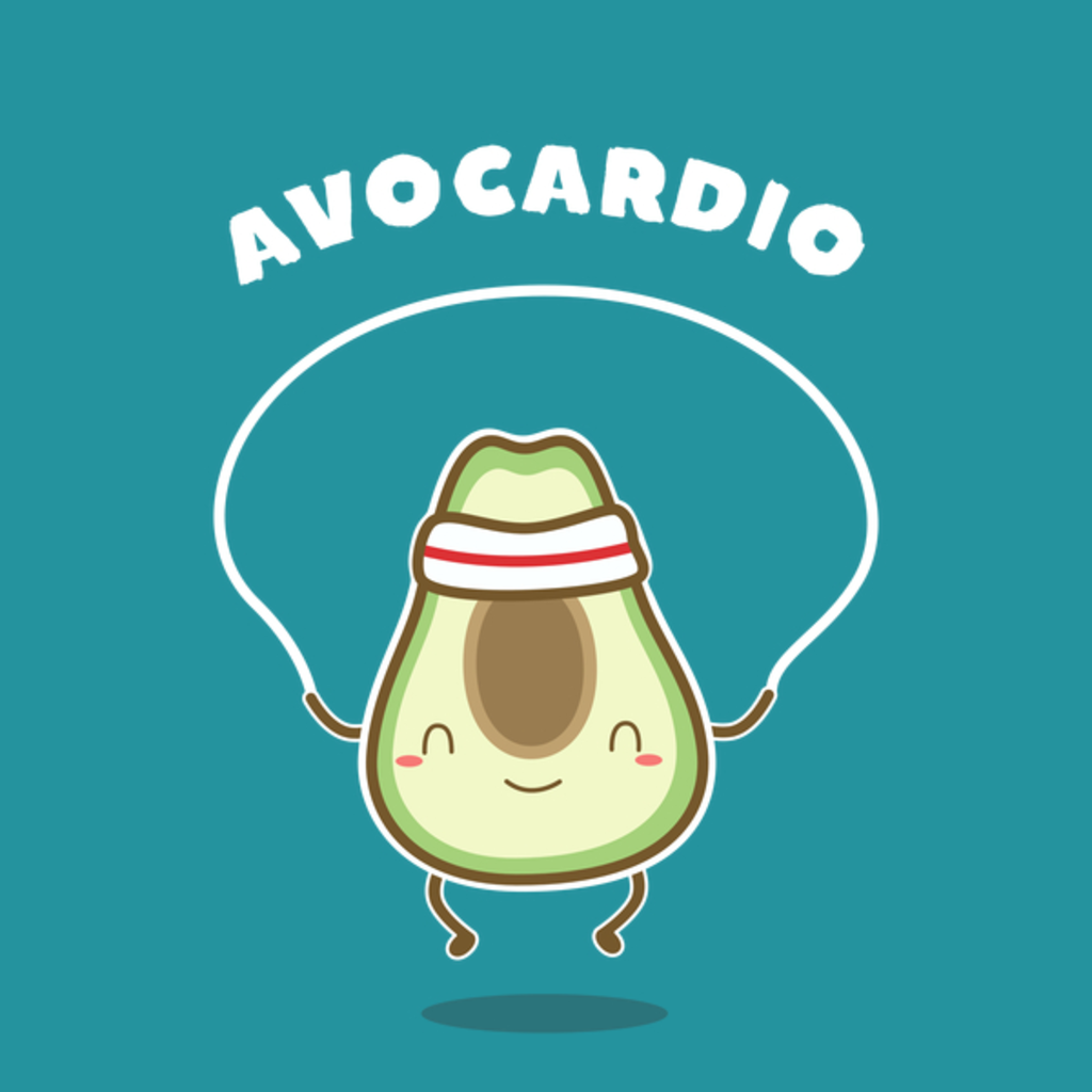 NeatoShop: Avocardio Fitness Pun