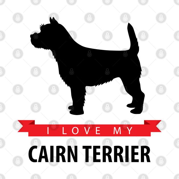 TeePublic: I Love My Cairn Terrier