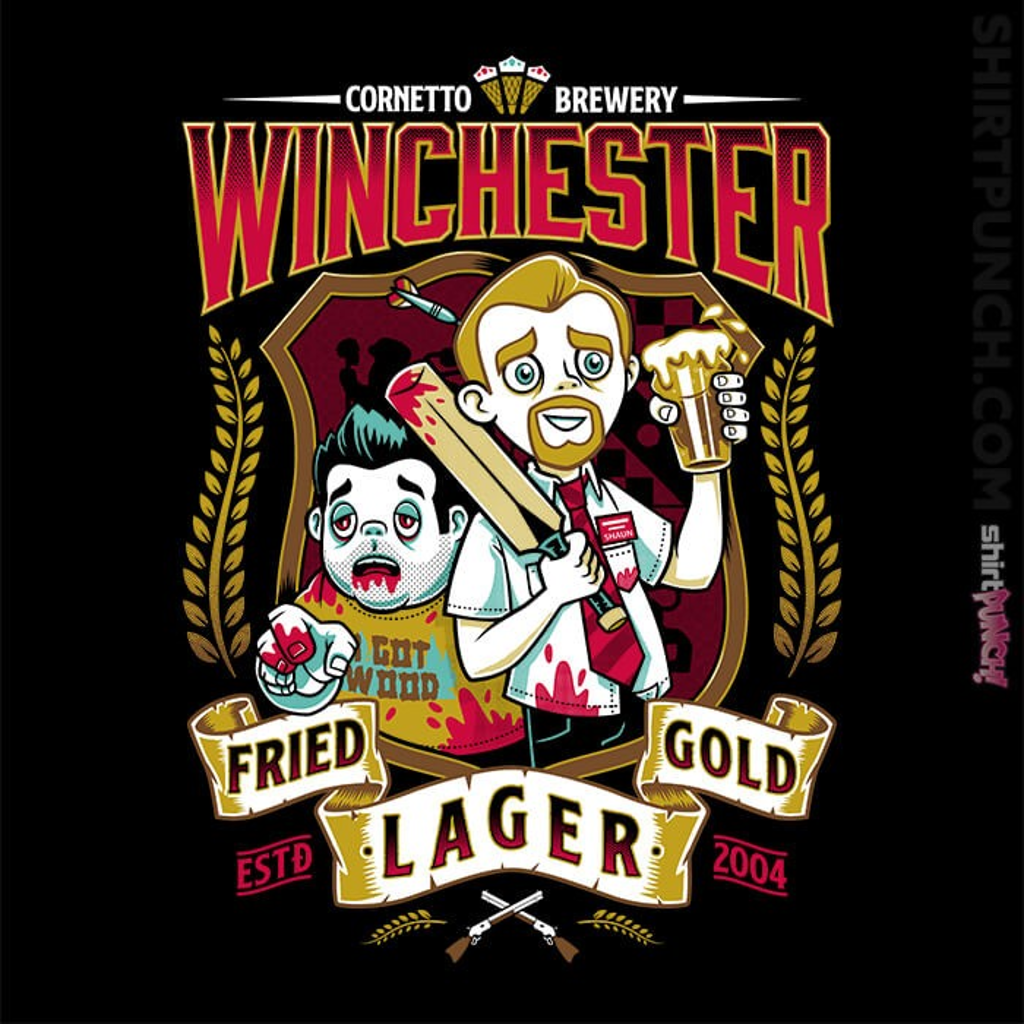 ShirtPunch: Winchester Fried Gold Lager