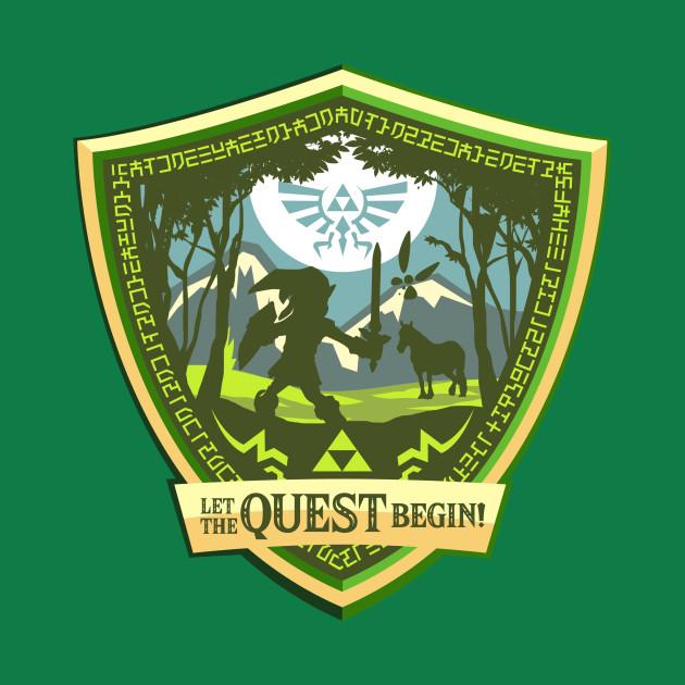 TeePublic: Let the Quest Begin!