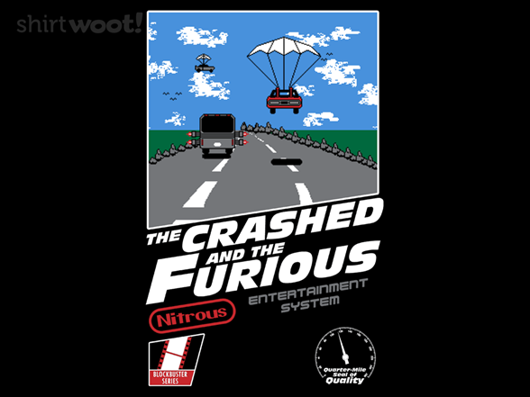 Woot!: Crashed and the Furious - $8.00 + $5 standard shipping