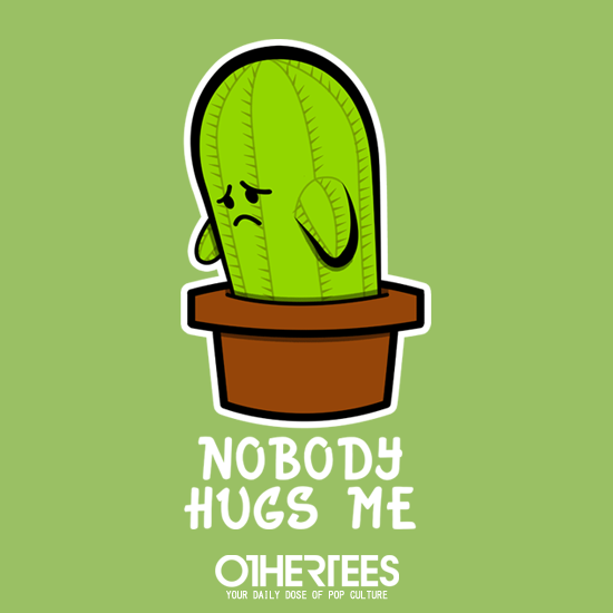 OtherTees: Lonely Cactus