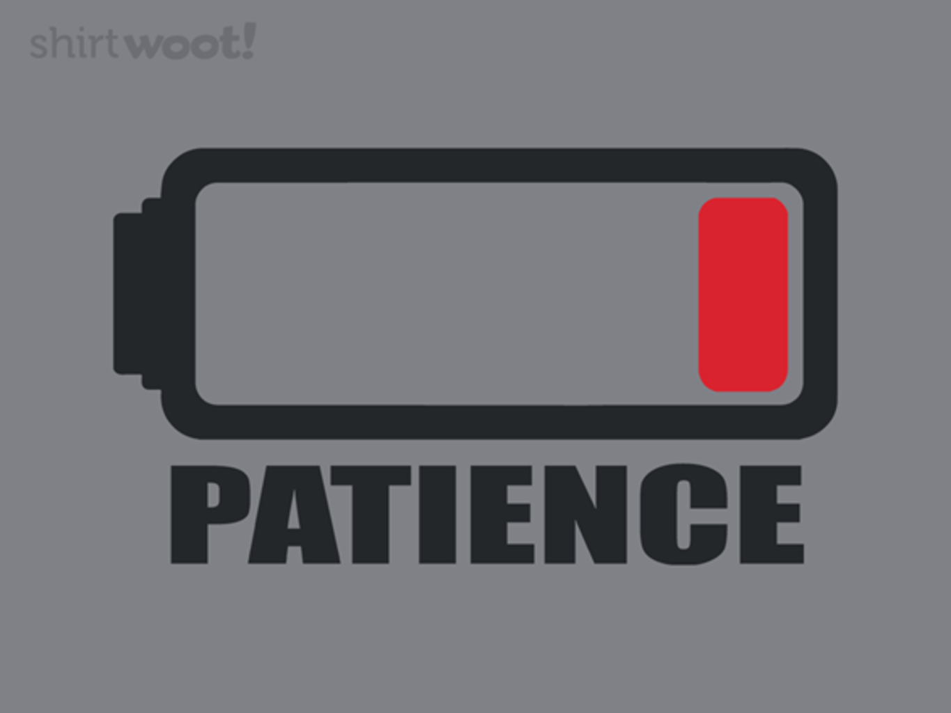 Woot!: Out of Patience