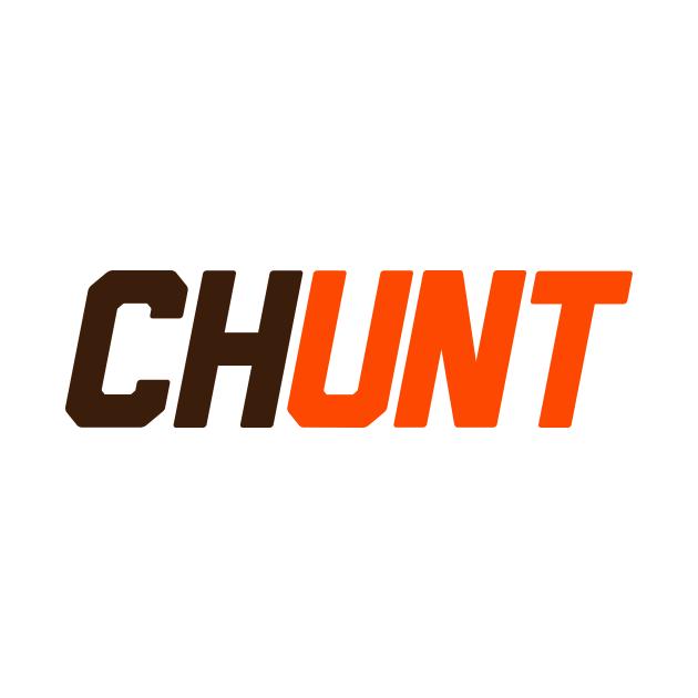 TeePublic: CHUNT - Nick Chubb and Kareem Hunt