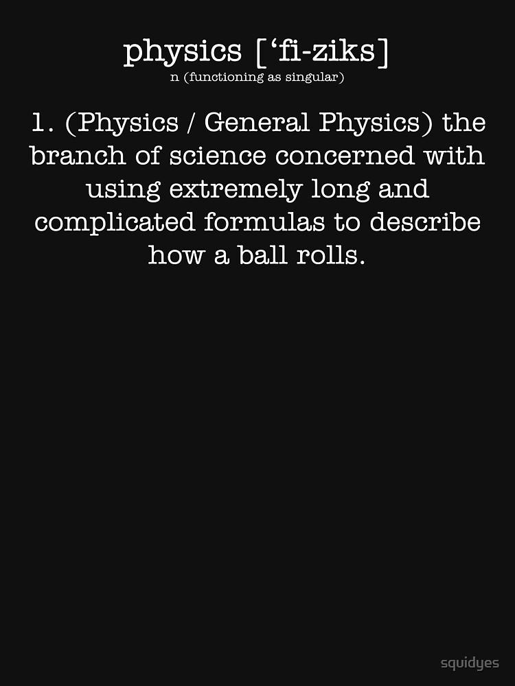 RedBubble: Physics