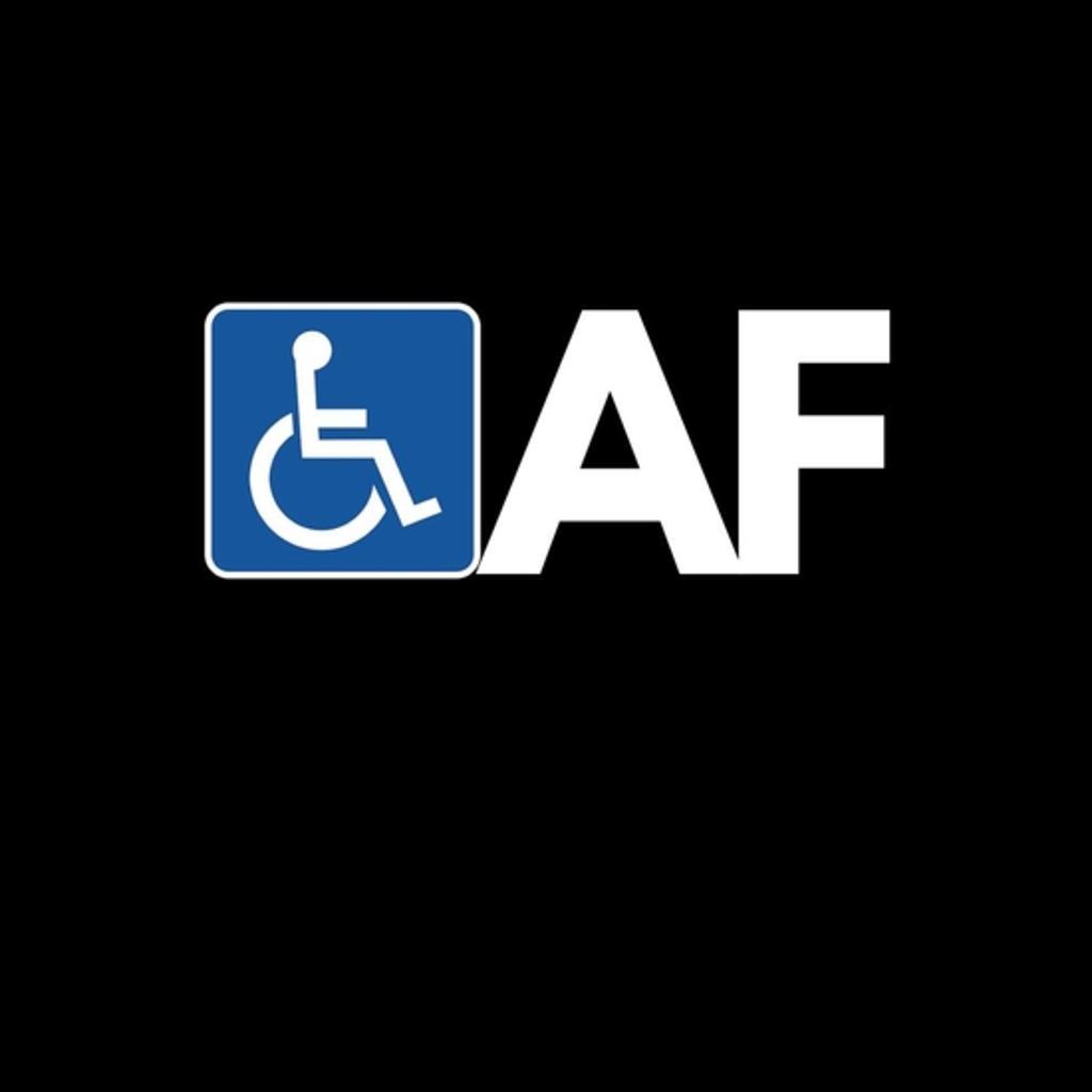 BustedTees: Handicapped AF