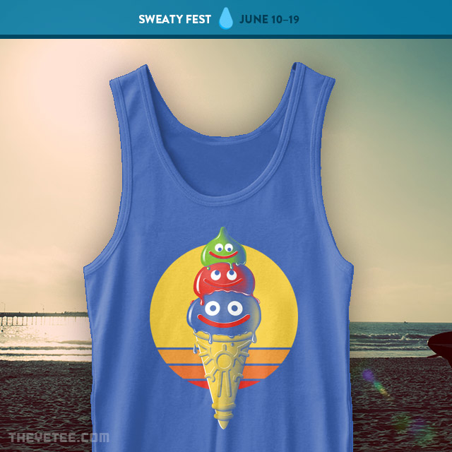 The Yetee: Three Scoops! Command? Tank Top