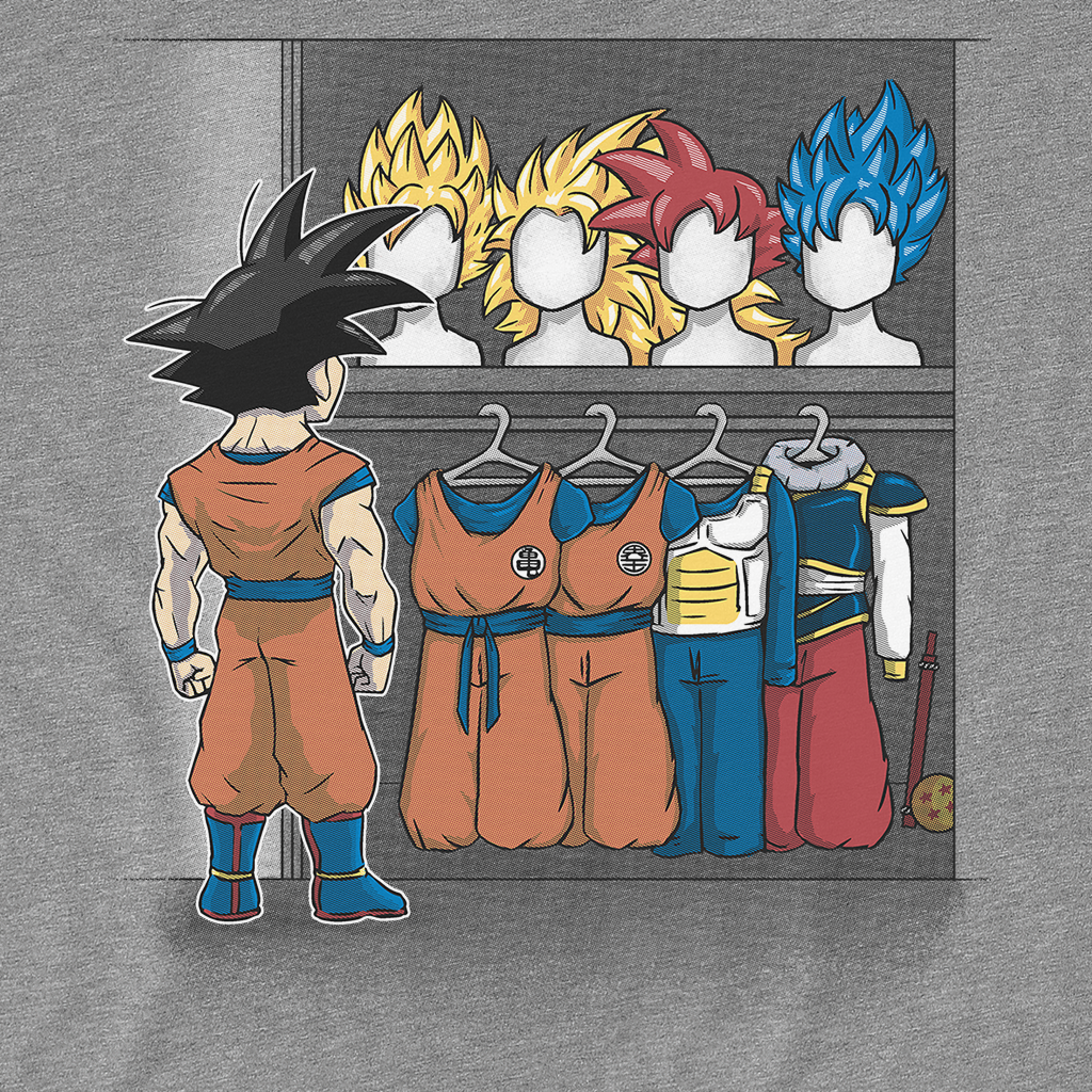 Pop-Up Tee: Saiyan Closet