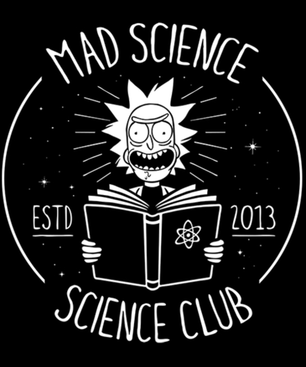 Qwertee: Mad Science Club