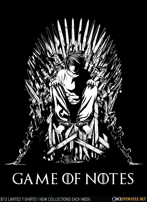 Once Upon a Tee: Game of Notes