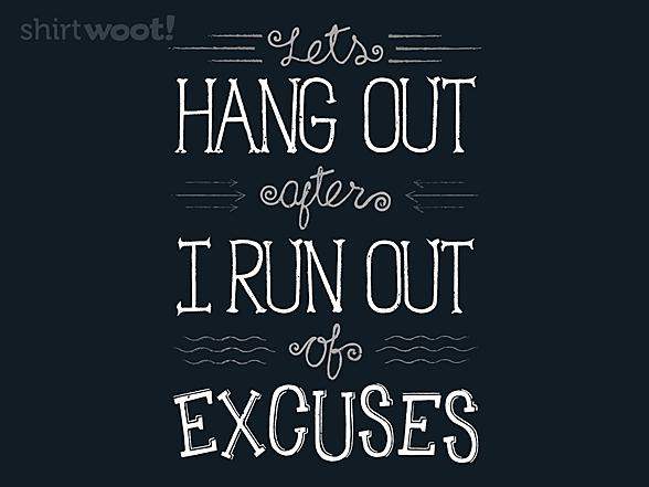 Woot!: Excuse Me