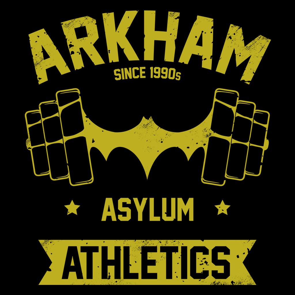 Pop-Up Tee: Arkham Asylum Athletics