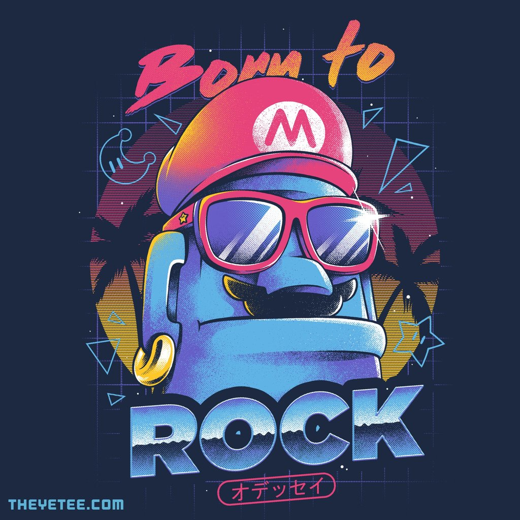 The Yetee: Born to Rock by ilustrata