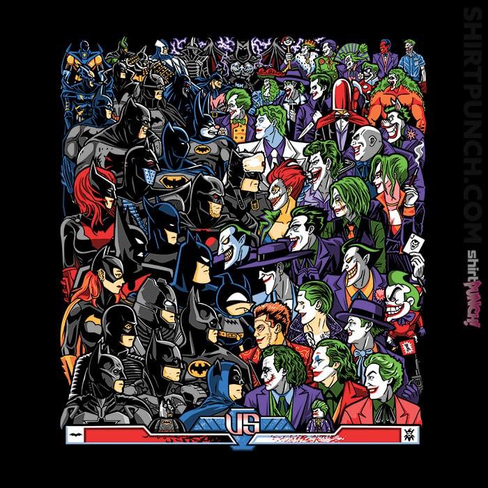 ShirtPunch: Bats VS Clowns