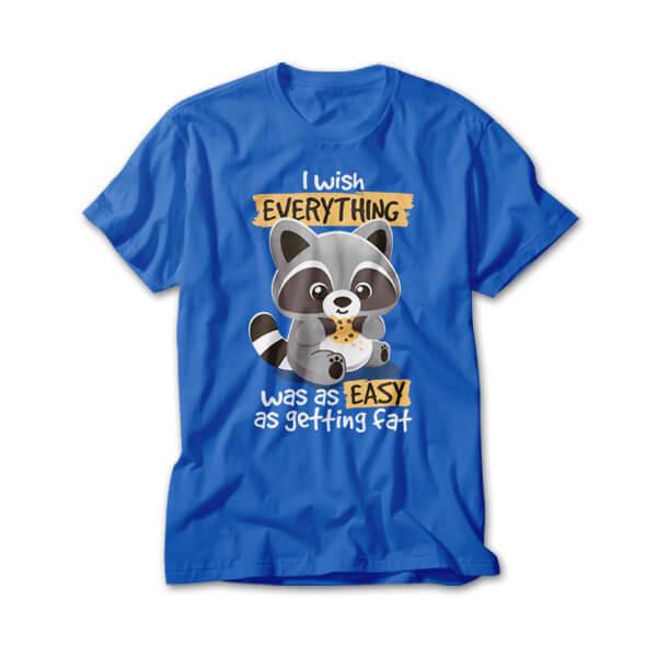 OtherTees: Fat raccoon