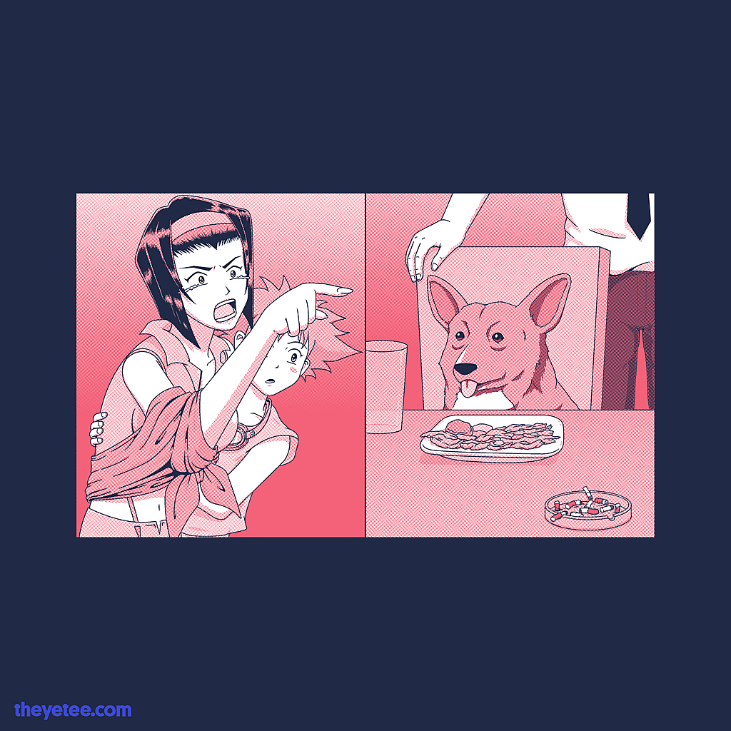 The Yetee: Woman Yelling at a Data Dog