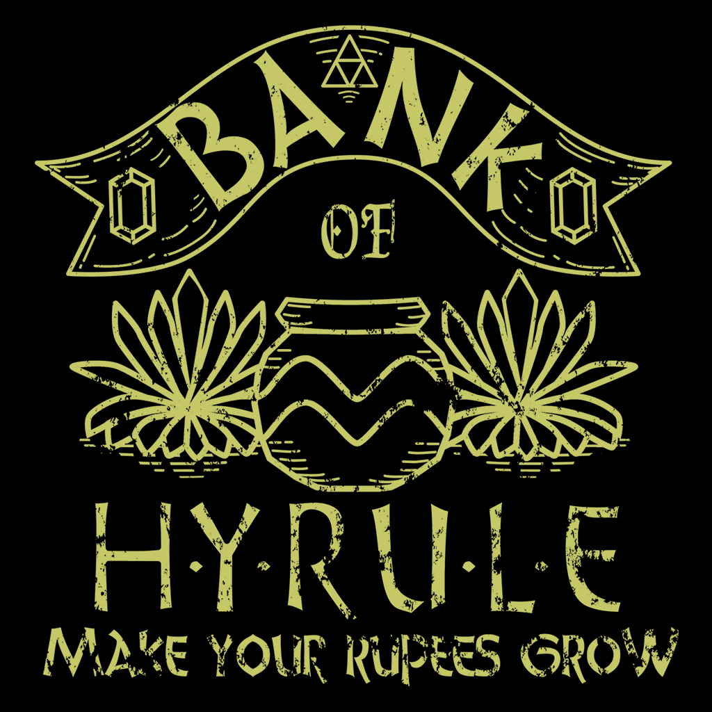 Pop-Up Tee: Bank of Hyrule