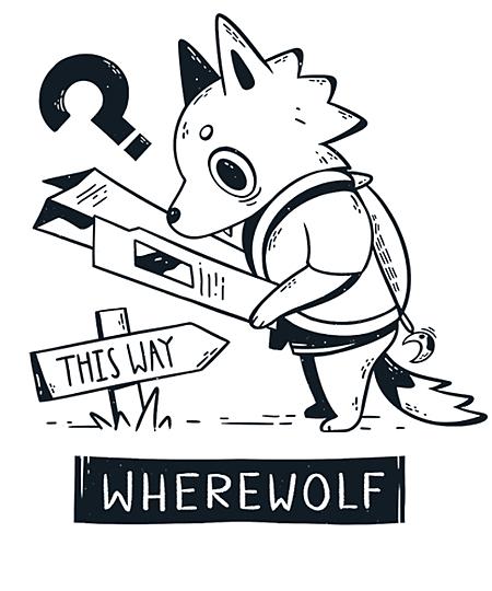 Qwertee: Wherewolf