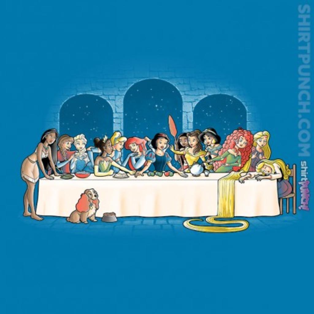 ShirtPunch: Princess Dinner
