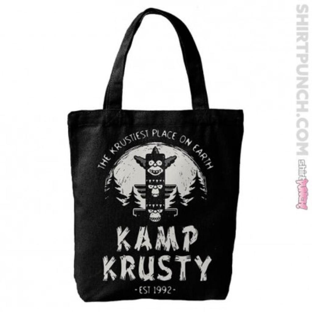 ShirtPunch: Kamp Krusty Tote Bag