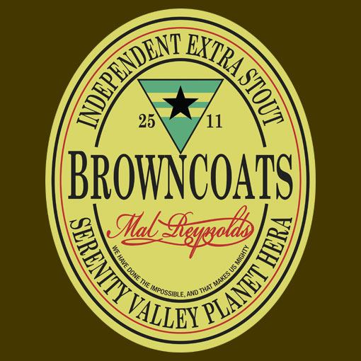 TeeFizz: Browncoats Independent Extra Stout