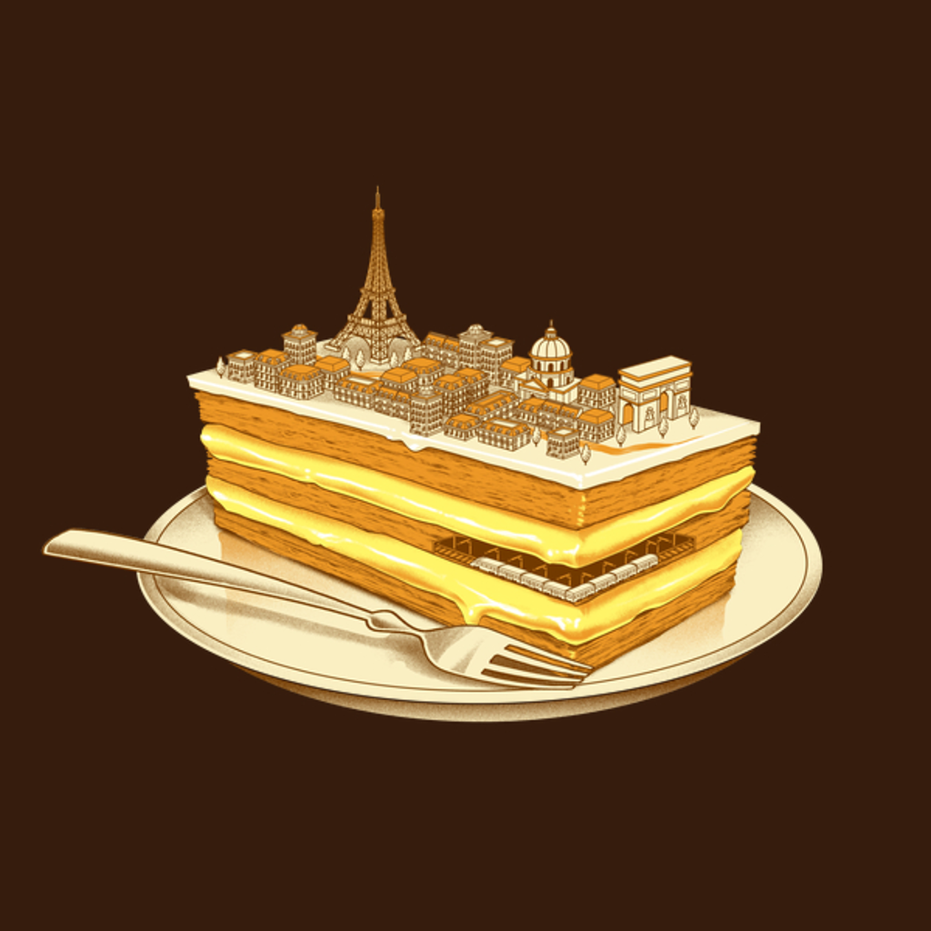 NeatoShop: Hungry for Travels: Slice of Paris