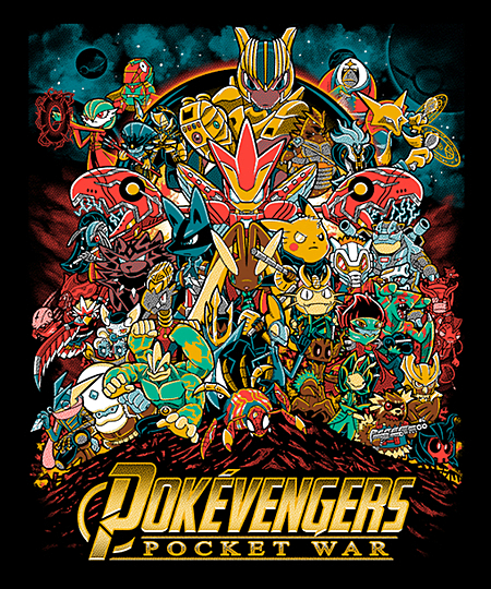 Qwertee: Pocket War