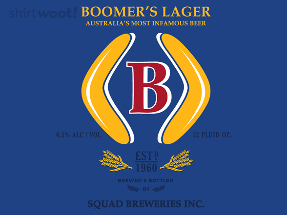 Woot!: Boomer's - Squad Breweries - $7.00 + $5 standard shipping